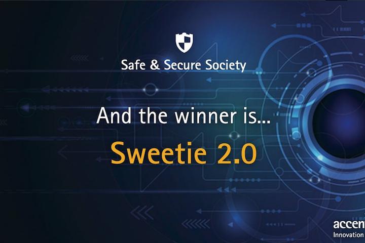 Amsterdam, 30 oktober 2015 - Terre des Hommes heeft opnieuw een prijs in de wacht gesleept met het digitale lokmeisje Sweetie, waarmee webcamseks met kinderen wordt aangepakt. Sweetie 2.0 is onderscheiden met een Accenture Innovation Award, die jaarlijks wordt uitgereikt aan bedrijven en organisaties die uitzonderlijke prestaties leveren op het gebied van innovatie en duurzaamheid. Sweetie ging er met een award vandoor in de categorie Safe & Secure Society.