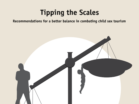 Tipping the Scales. Recommendations for a better balance in combating child sex tourism.