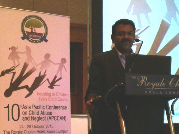 Prevention of child marriage in India at the APCCAN 2015 conference in Malaysia