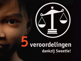 Sweetie Terre des Hommes seksuele uitbuiting 5 veroordelingen