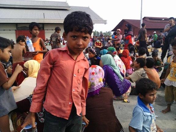 Rohinga-kindvluchteling krijgt eerste opvang