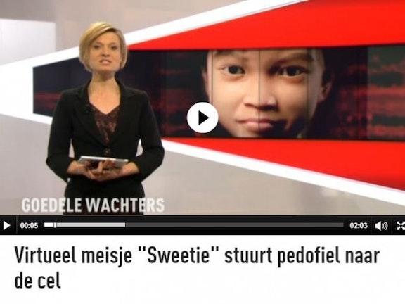 Sweetie veroordeling in België Terre des Hommes webcamseks met kinderen