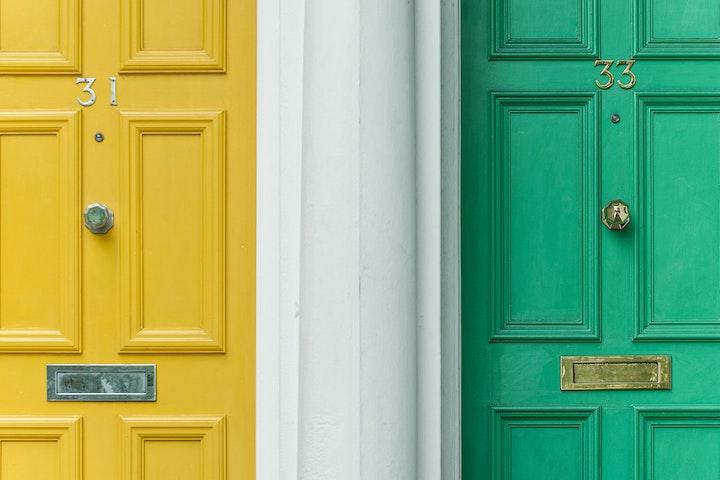 Deur aan deur werfactiviteiten