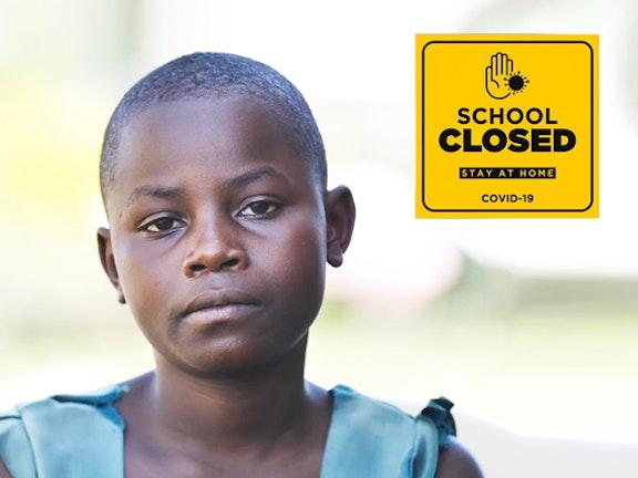 oor de coronacrisis zijn kwetsbare kinderen, zoals Emelda, wereldwijd in gevaar.