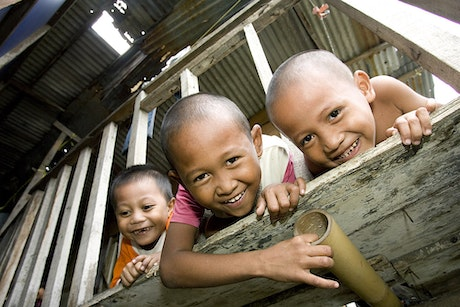 Stop the exploitation of children in Asia. Fight along.