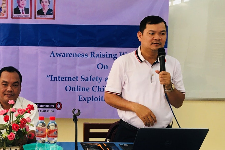 Partners educate children to stay safe from online sexual exploitation