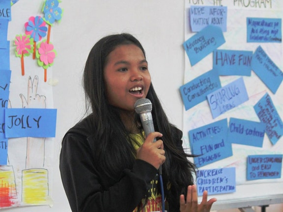 Kindarbeider wordt activist voor kinderrechten Terre des Hommes Filippijnen