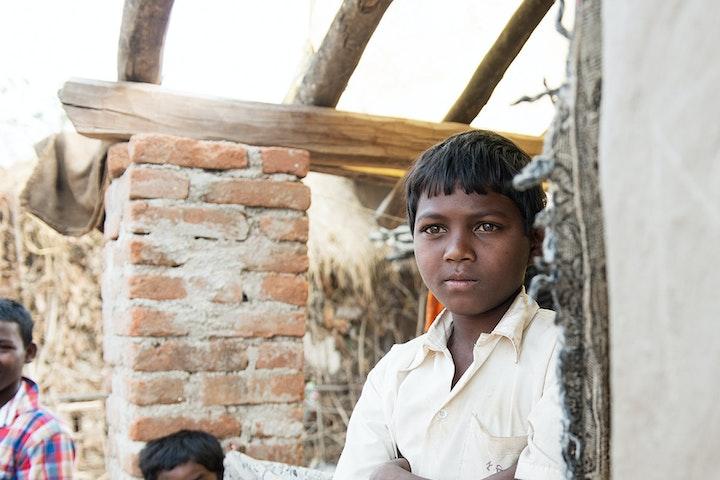 Ontsnapt uit de mijn en terug naar school kinderarbeid India Terre des Hommes