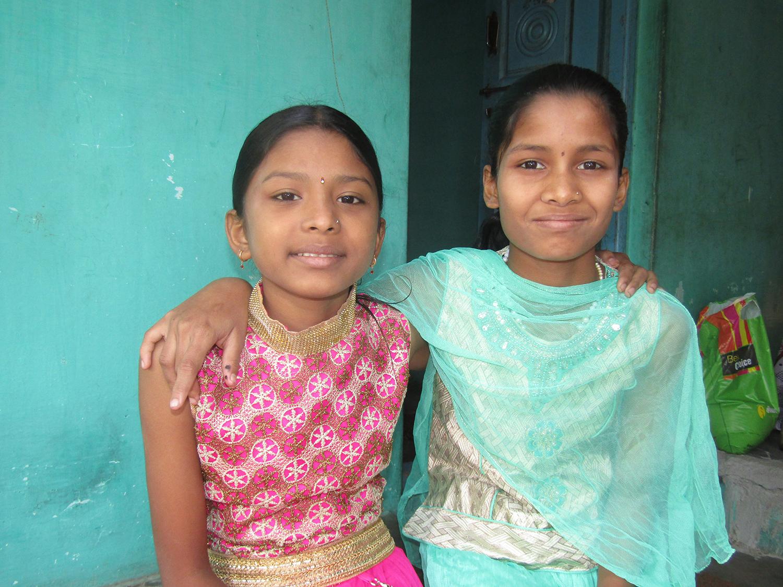 Priyanka en Sheila maken nieuwe vriendjes kinderhandel en migratie India