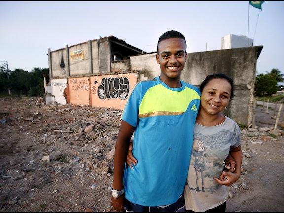 """""""Voor je rechten moet je vechten"""" Terre des Hommes Pim Ras Rio de Janeiro Olympische Spelen"""