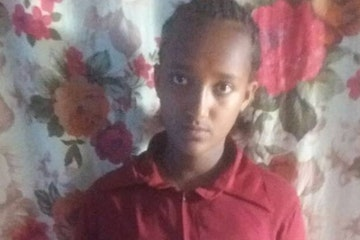 Woynshet from Ethiopia was about to be married at the age of fourteen