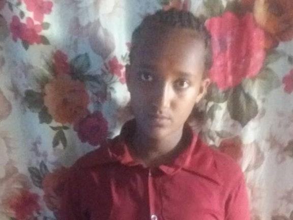 De 14-jarige Woynshet uit Ethiopië