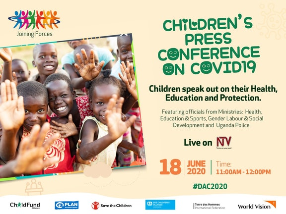 Children's press conference on COVID-19