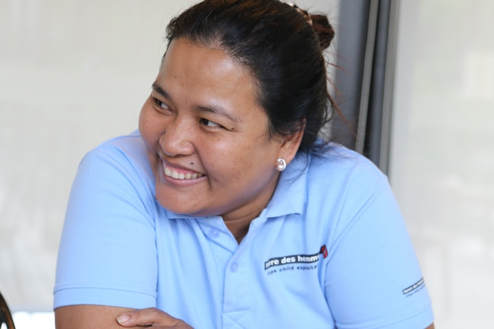 Vannavy, Project Coordinator, TdH Cambodia Country office