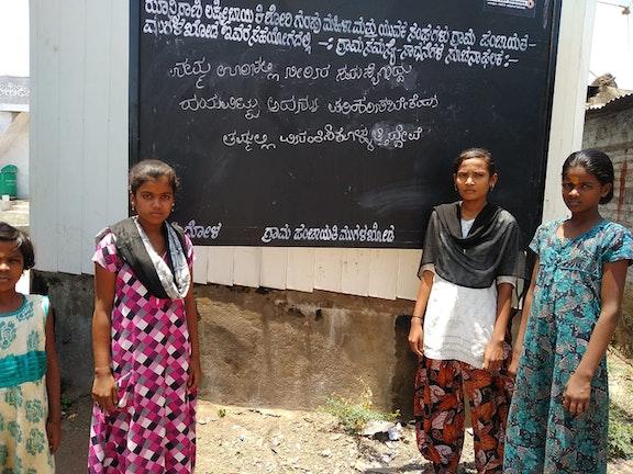 Children speak up to address drinking water problem in India