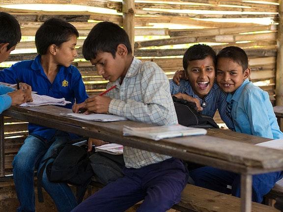 Ongeveer 41 miljoen kinderen in Azië zijn dagelijks aan het werk.