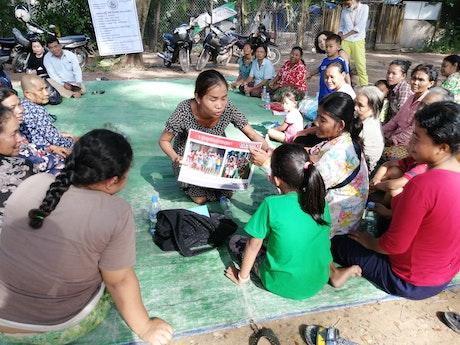 185.184 kinderen en gemeenschapsleden nemen deel aan bewustwordingsactiviteiten.