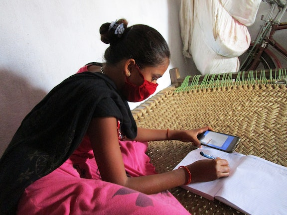 Bringing Digital Education to Children from Mica Dependant Districts