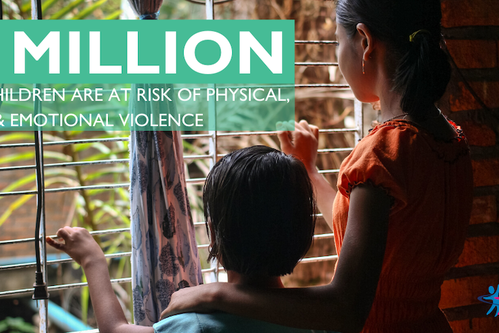 COVID-19 threatens to cause surge in cases of violence against children worldwide
