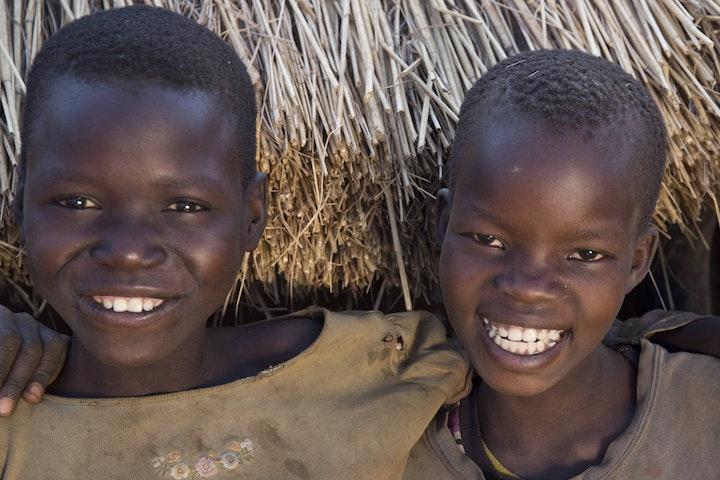 Girls in Napak district, Uganda