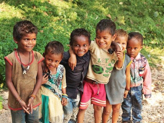 Indian Children Portrait