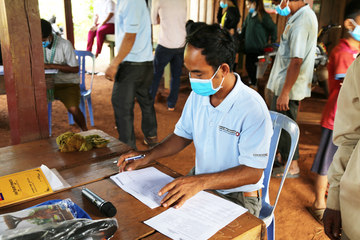 Sokhim, ECM project officer, Mondulkiri, Cambodia