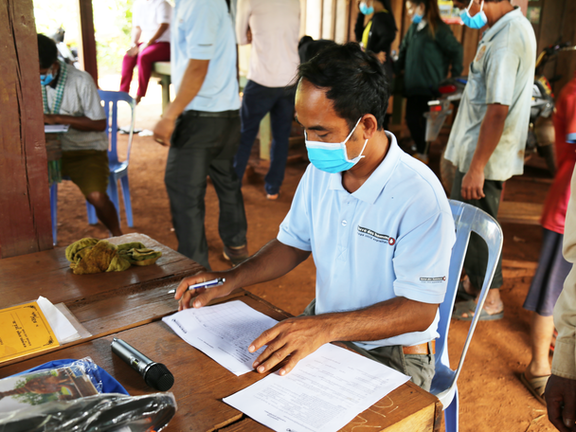 Sokhim, ECM project officer, Mondulkiri, Cambodia