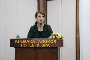 Zoe, Project Manager, Cambodia Country office.