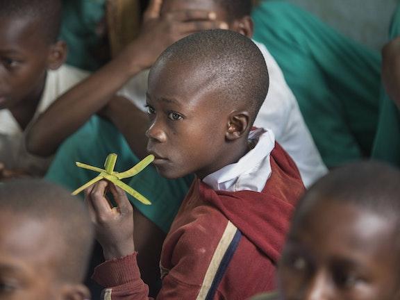 School boy in Kenya