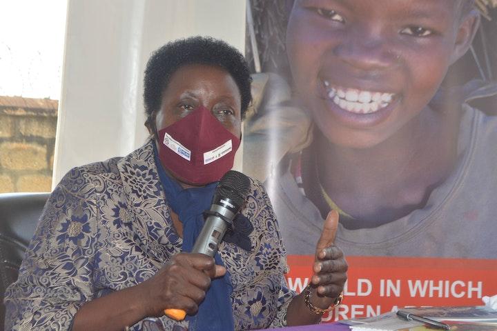 Lady Justice Damalie Lwanga, executive director of the Judicial Training Institute