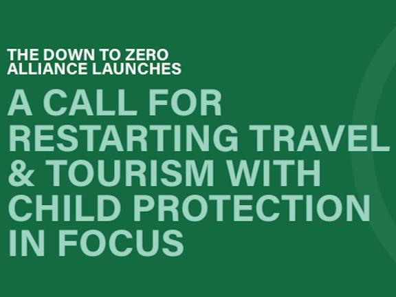 Down to Zero pleit voor goede bescherming van kinderen in toerismesector