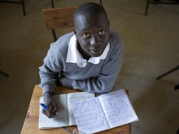 Student in Kenya