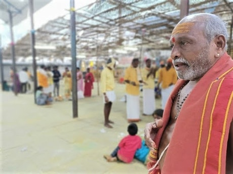 A priest from India