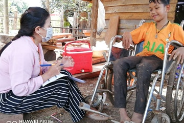 Vicheth, 15 years old boy from MDK, Cambodia