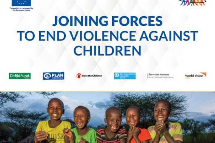 Joining Forces Alliance to End Violence Against Children banner