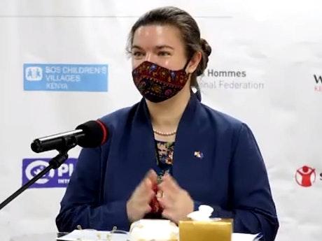 Katrin Hagemann - Deputy Ambassador, European Union Delegation in Kenya