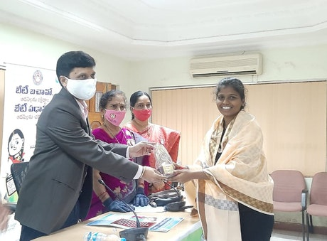 felicitation to youth advocates by government