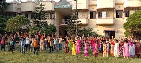 Children celebrate kabir's 40th anniversary