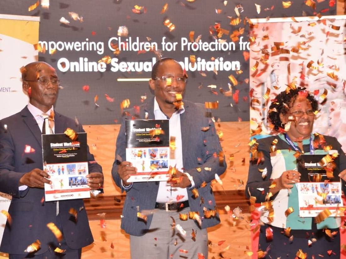 Launch of the online manuals in Kenya for child safety online