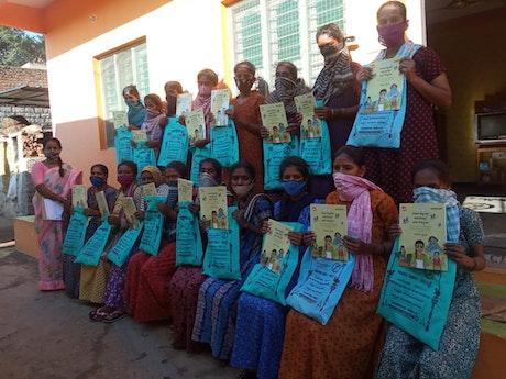 In totaal hebben we al 165 meisjes uit 18 dorpen geholpen.