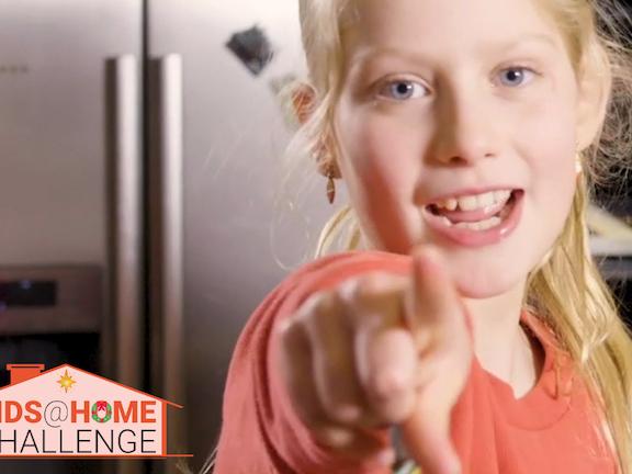 Kids @at Home Challenge
