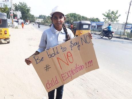 Activiste vanuit GAA in India