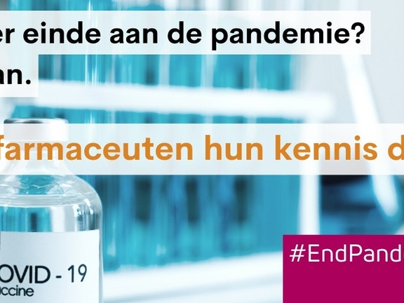 #EndPandemicNow #CTAP.  If pharmaceuticals share their knowledge, vaccin making goes quicker