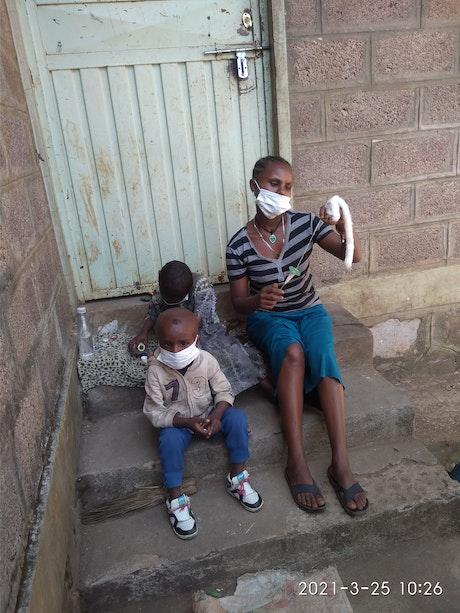 Children behind the news