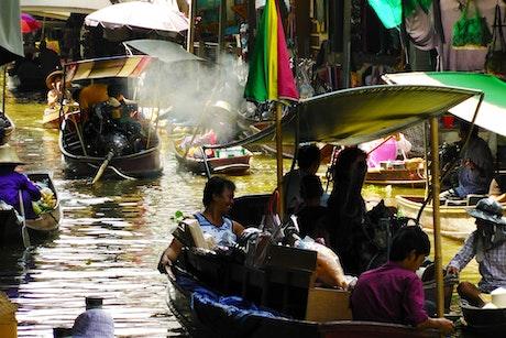 Thai local market