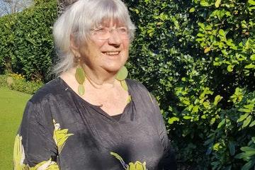 Gré Hilbrandie (77) is coördinator