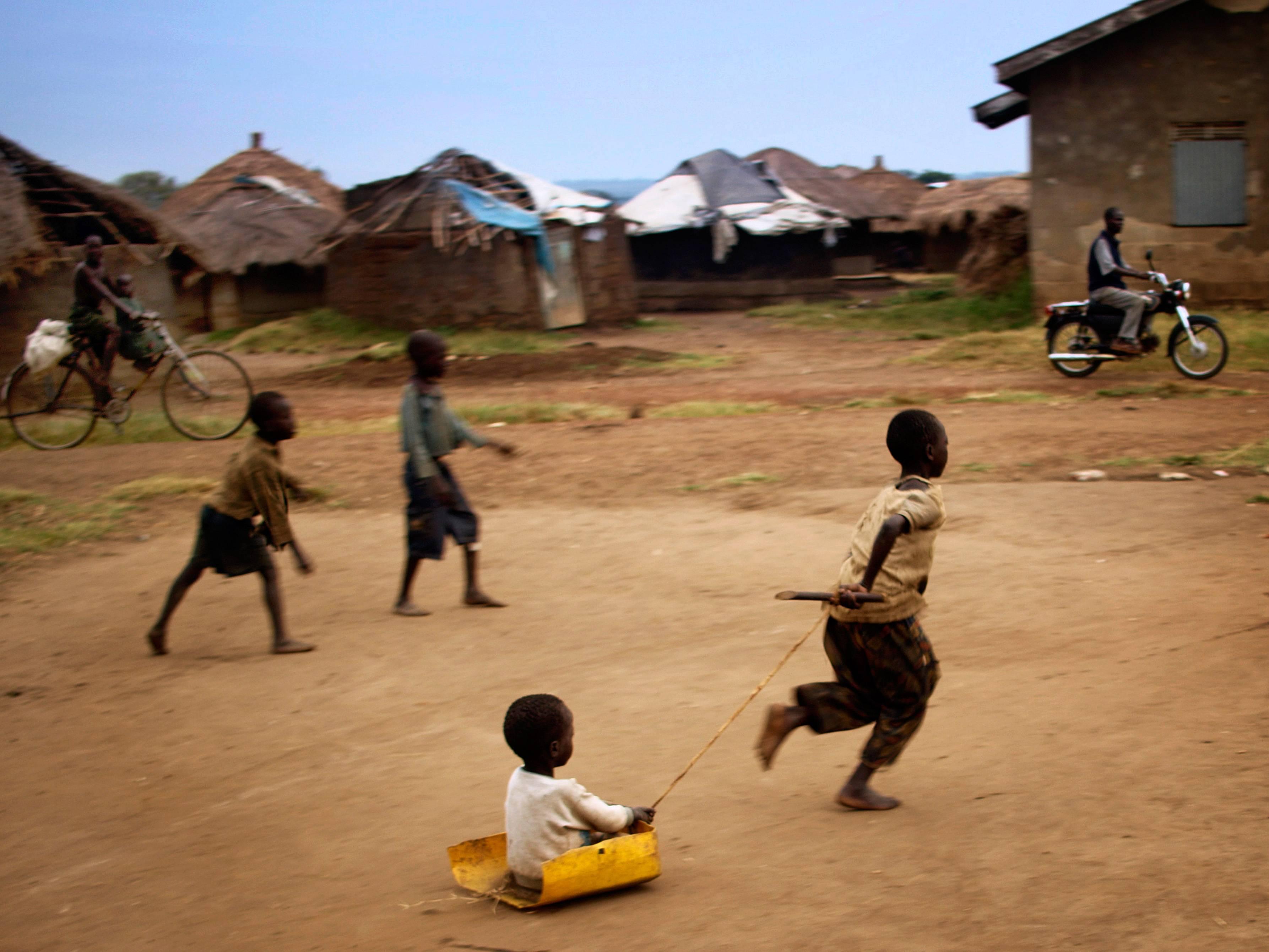 Village life in Uganda