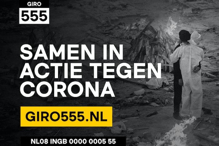 Giro555: Het aantal overlijdensgevallen door corona is in India hoger dan waar ook ter wereld