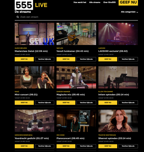 Het nieuwe platform555Live.nl