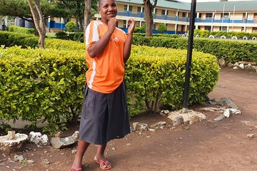 Rhobi at the ATFGM rescue centre (Tanzania)